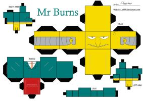 Mr Burns by Cubee-acres