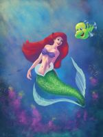 The little Mermaid by ChristopherCrow