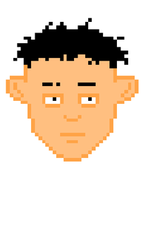 Pixel face #1 by YoStovall