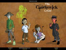 Wrongclocks - Candlewick Crew by Crazon