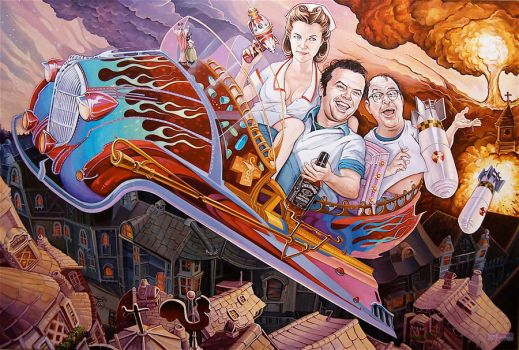 'Flying While Intoxicated' by davidmacdowell