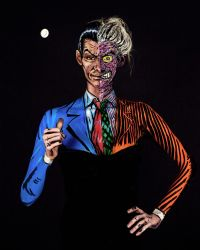 Twoface Bodypaint by KayPikeFashion