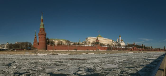 The Moscow Kremlin winter panorama by fly10