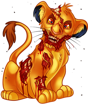 Undead Simba From The Lion King By Dragoart On DeviantArt