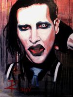 Marilyn Manson by IsabelleRioux