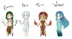 Elemental Adopts [CLOSED] by DriRose