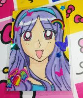 Gift ACEO: Miyoko by Magical-Mama