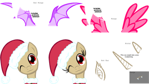 Bigger Christmas Pony Base by HeartlessKeyWielder