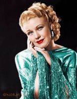 Ginger Rogers - Colorized by NorthOne