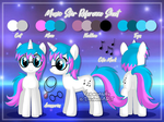 [Commission] Music Star Reference Sheet by Veemonsito