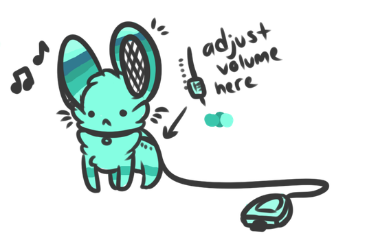 Minty *A SPEAKER MOUSE ADOPTION* SOLD _closed_ by Titanium-Sharks