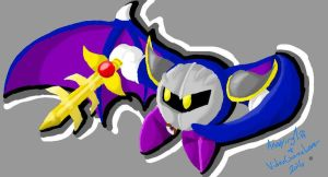.:Collab:. Meta Knight by AnnoyingTiff