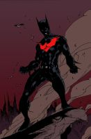 Batman Beyond by Brett Booth by edCOM02