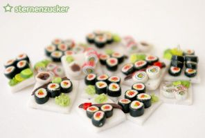 even more sushi by leinchen