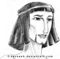 Moses, the Prince of Egypt by devsash