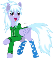 Cloudy in Hoodie by MidnightBlitzz
