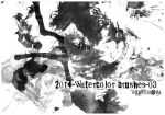 2014-Watercolor brushes-03 by egg9700