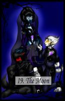 Tarot The Moon by TheBlindProphetess