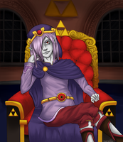 Vaati's Throne by StrawberryCrescent
