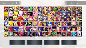 Super Smash Flash Ultimate Roster Idea by MrYoshi1996