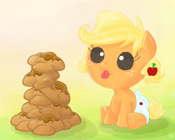 Baby Applejack by IFtheMaineCoon