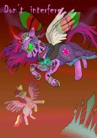 Twilight Sparkle queen of shadows, chapter 4 by raggyrabbit94