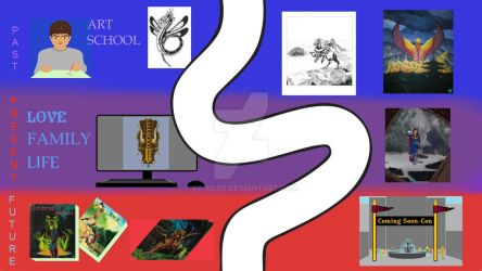 Artistic Journey DA 10152014 Richard Thaxton aka X by XT-Illos