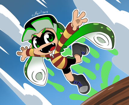 Coff's Inkling Jump by Coffgirl