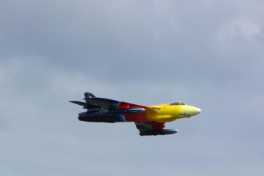 Lowestoft Airshow - Hawker Hunter by e-s-d
