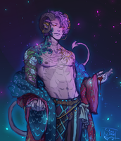 Critical Role - Mollymauk by Misfit-Mimi