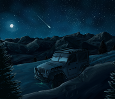 Montana Night by Minionwolf711