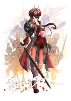 Blade and Soul by bcnyArt