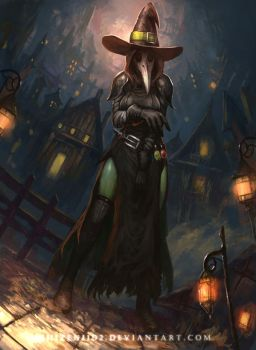 CM: The Plague Witch by shizen1102