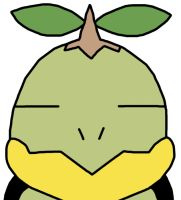 Turtwig Is Not Amused by GEORDINHO