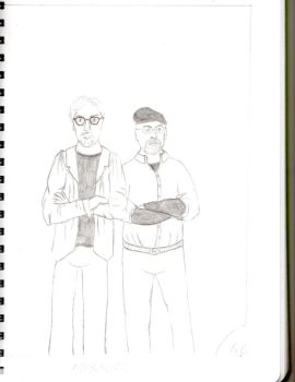 Mythbusters Sketch by Nerdroditie