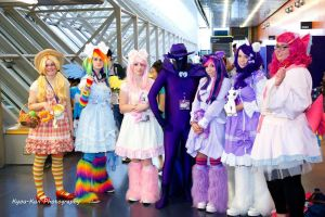 All Pony Otakuthon 2013 by KyuProduction
