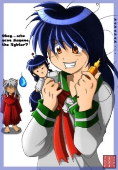 kagome plus lighter equals bad by br3nna