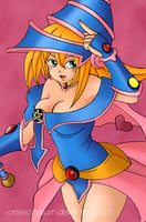 Dark Magician Girl by VortexOfSaturn