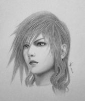 Claire 'Lightning' Farron by Demonconstruct