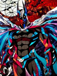Stained glass picture Batman by Art-Brother