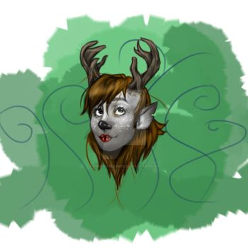 Reindeer Woman2.1 by Despicable5mee