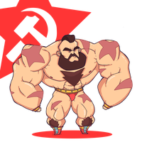 Street Fighter: Zangief! by lost-angel-less