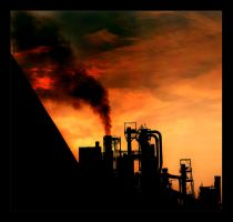 The Red in the Sky Is Ours by Anvilos