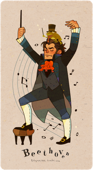 Beethoven by freestarisis