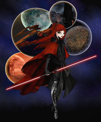 May the Force be with Me by Moryartix