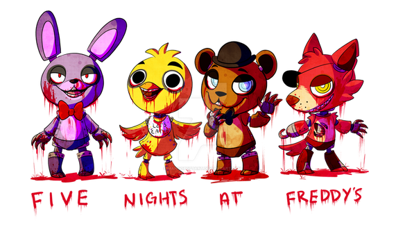 Five nights at Freddys by Mangopoptart