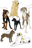 Mafia Dog Sketches MOAR? by Stubborn-Dog-Kennels