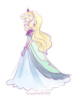 Queen Star's New Outfit Concept by TurquoiseGirl35