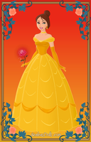 Halloween: Paige as Belle by Chumley12