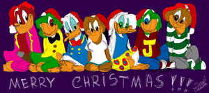 Merry Christmas from the Caballeros Family by SarahCaballeros